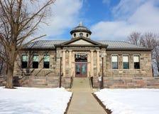 Biblioteca de Carnegie, Howell Michigan Fotografía de archivo libre de regalías