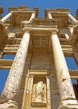 A biblioteca de Celsus fotografia de stock