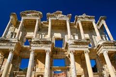 A biblioteca de Celsus Imagem de Stock