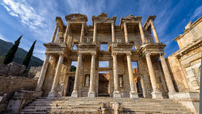 Biblioteca de Celsus Fotografia de Stock Royalty Free