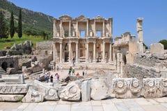 Biblioteca de Celsus em Ephesus Imagem de Stock