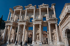Biblioteca de Celsus em Ephesus, Turquia Foto de Stock Royalty Free