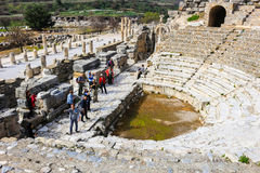 Biblioteca de Celsus em Ephesus, Turquia Fotografia de Stock Royalty Free