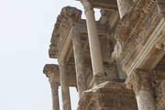 Biblioteca de Celsus en Ephesus en pavo Imagen de archivo