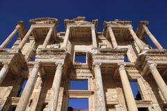 Biblioteca de Celsus, Ephesus, Turquía Imagen de archivo