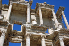 Biblioteca de Celsus, Ephesus, Turquia foto de stock royalty free