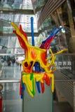 Biblioteca de cidade de Guangzhou, Guangdong, porcelana Fotos de Stock Royalty Free