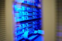 biblioteca de cintas grande de datos fotos de archivo