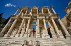 Biblioteca de Efes, Turquía Fotografía de archivo