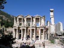 Biblioteca de Ephesus foto de archivo libre de regalías