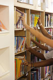 Biblioteca de escola Fotografia de Stock Royalty Free