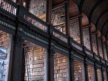 Biblioteca de faculdade da trindade foto de stock