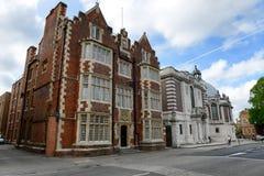 Biblioteca de faculdade de Eton e abóbada, Berkshire, Inglaterra Foto de Stock