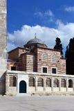 A biblioteca de Fatih Mosque Foto de Stock Royalty Free