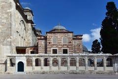 A biblioteca de Fatih Mosque Imagens de Stock