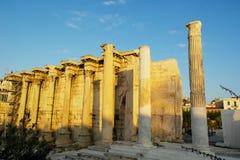 Biblioteca de Hadrian Imagen de archivo