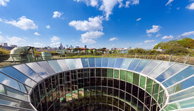 Biblioteca de la universidad de Varsovia Foto de archivo libre de regalías