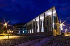 Biblioteca de la universidad del oeste de Bohemia Foto de archivo libre de regalías