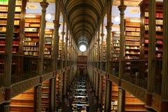 Biblioteca de la vendimia Foto de archivo