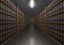 Biblioteca de lei Imagem de Stock