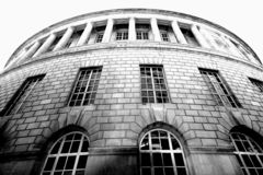Biblioteca de Manchester Fotos de archivo