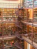 Biblioteca de museu fotografia de stock