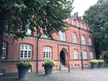 Biblioteca de Naer no Herning, Dinamarca Foto de Stock Royalty Free