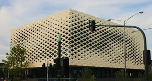 Biblioteca de Ringwood y edificio del consejo Imágenes de archivo libres de regalías
