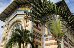 Biblioteca de Schoelcher en Fort de France en Martinica Foto de archivo