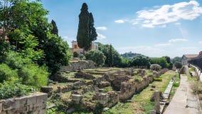 Biblioteca de Titus Flavius Pantainos video estoque