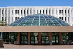 Biblioteca de universidad de estado de San Diego fotografía de archivo libre de regalías