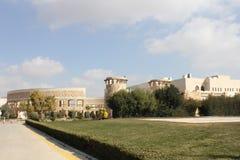 Biblioteca de universidad de Jordania Fotografía de archivo libre de regalías