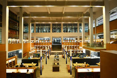 Biblioteca de universidad de Shantou, Guangdong, ¼ Œthe de Chinaï que la mayoría de las bibliotecas de universidad hermosas en As fotografía de archivo