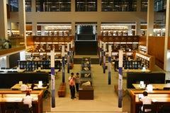 Biblioteca de universidad de Shantou, la biblioteca de universidad más hermosa de Asia Fotos de archivo