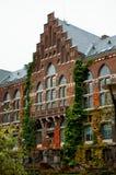 Biblioteca de universidad en Lund, Suecia Imagen de archivo