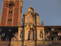 Biblioteca de universidad (Lovaina, Bélgica) Fotos de archivo