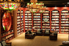 biblioteca de universidad, sitio de lectura de la biblioteca Imágenes de archivo libres de regalías