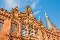 Biblioteca de universidade de Heidelberg Fotos de Stock Royalty Free