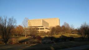 Biblioteca de universidade de Indiana imagens de stock royalty free