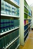 Biblioteca de Universty Imagen de archivo