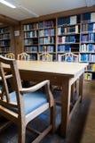 Biblioteca de Universty Imágenes de archivo libres de regalías