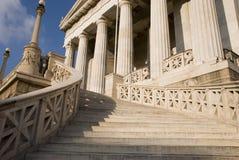 Biblioteca del Athene Foto de archivo libre de regalías