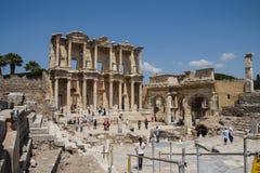 Biblioteca del celsus Fotos de archivo