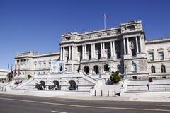 Biblioteca del Congresso - edificio del Jefferson Fotografia Stock Libera da Diritti