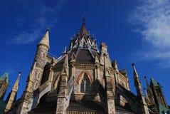 Biblioteca del parlamento Imagen de archivo libre de regalías