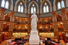 Biblioteca del Parlamento - Ottawa, Canada Immagini Stock Libere da Diritti
