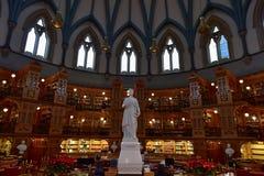 Biblioteca del Parlamento - Ottawa, Canada Fotografie Stock
