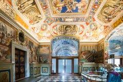 Biblioteca del Vaticano Foto de archivo libre de regalías