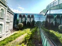 biblioteca della Polonia di warshawa Immagine Stock Libera da Diritti