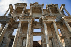 Biblioteca di Celso in Ephesus Fotografia Stock Libera da Diritti